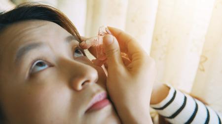 CLOSE UP: Eye drops