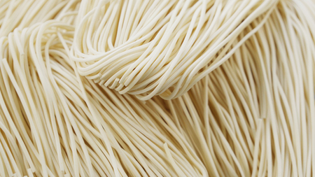 tilting footage - Uncooked Chinese noodles Stok Fotoğraf - 95173793