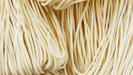 tilting footage - Uncooked Chinese noodles Banque d'images