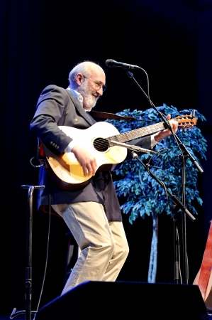 ST. PETERSBURG, FLORIDA (USA) - FEBRUARY 18, 2012: Paul Stookey, best known as Paul in the folk trio Peter, Paul and Mary, performs at The Palladium.