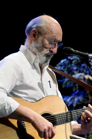 ST  PETERSBURG, FLORIDA  USA  - FEBRUARY 18, 2012  Paul Stookey, best known as Paul in the folk trio Peter, Paul and Mary, performs at The Palladium