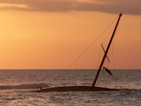 Shipwreck in Hawaii photo