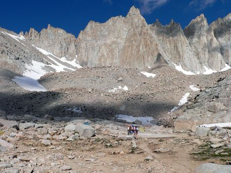 Mt.Whitney climbers