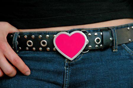 buckle: Heart Buckle