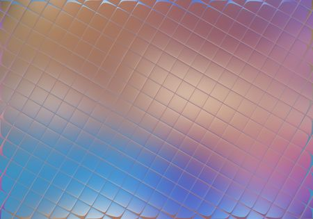 Glass squares with soft focus colourful background photo