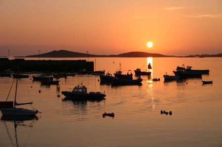 scilly: Sunset, Isles of Scilly, Cornwall