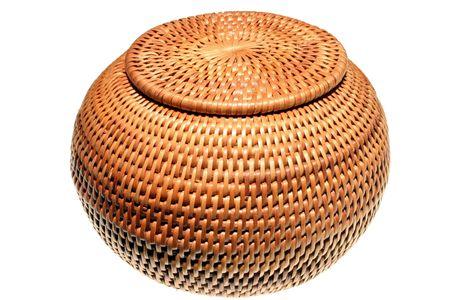 entwine: Wicker basket