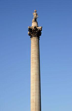 Nelson's Column, Trafalgar Square, London. photo
