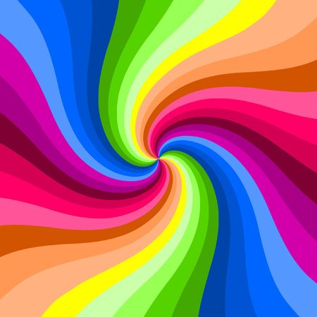 hypnotic: Hypnotic color swirl background.
