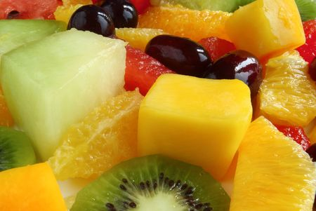 Close up of a fruit salad. Stock Photo - 3177146