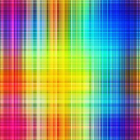 Rainbow colors grid pattern lines abstract background. Stock Photo