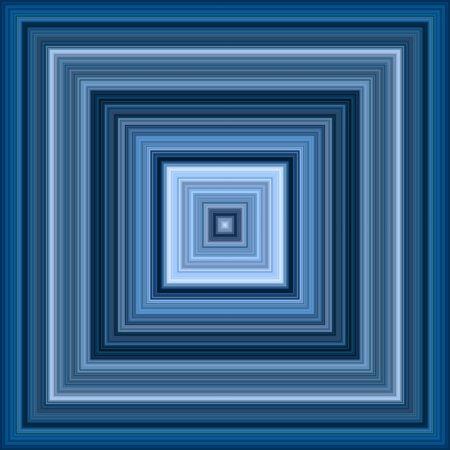 decreasing in size: Decrescente di infinito blu piazze effetto astratto sfondo.  Archivio Fotografico