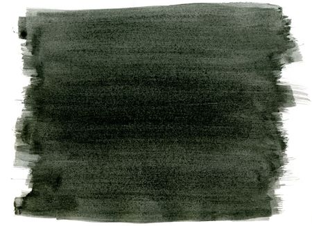 Black watercolor paint strokes abstract background.