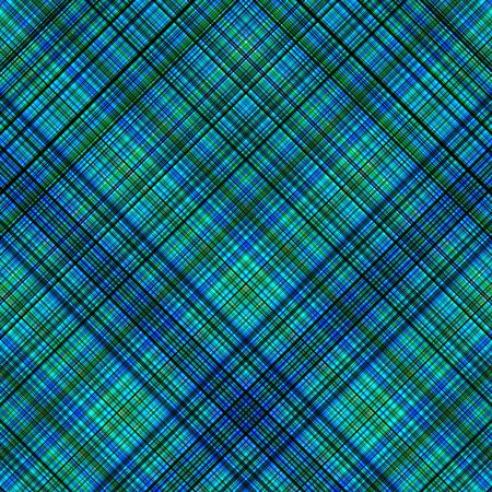 Blue and green colors diagonal lines pattern background. Stock Photo - 3595812