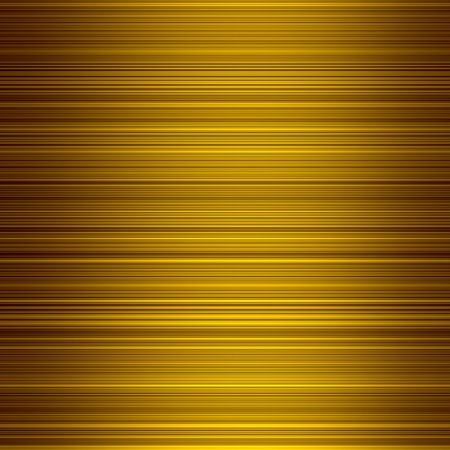 graduated: Gold color graduated stripes abstract background. Stock Photo