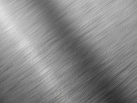 Brushed metal close up background texture. Stock Photo