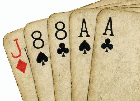 eights: Cierre de ases y ochos, la mano muerta Mans.