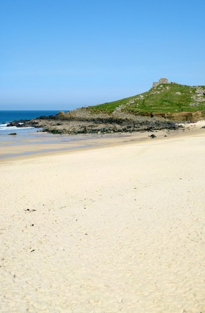 Porthmeor beach in St. Ives, Cornwall UK. Stock Photo - 4539686