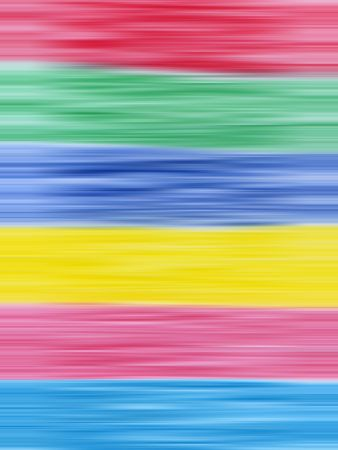 secondary: Primary and secondary colors abstract blur stripes background. Stock Photo