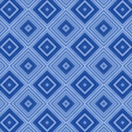 decreasing in size: Rombo blu pattern di sfondo astratto.  Archivio Fotografico