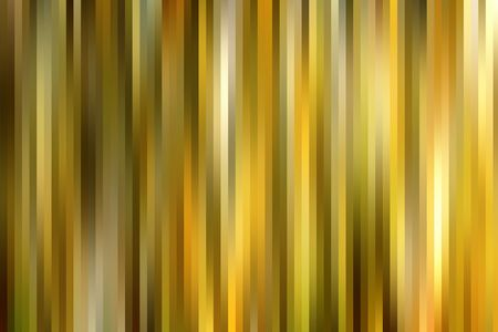 graduated: Golden colors graduated vertical lines pattern background. Stock Photo