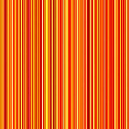 Seamless bright orange and yellow colors vertical lines pattern background. Stock Photo