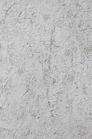White painted recycled wood bark board abstract background. photo