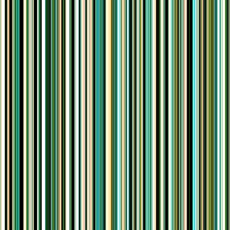 banding: Seamless green colors vertical stripes pattern.  Stock Photo