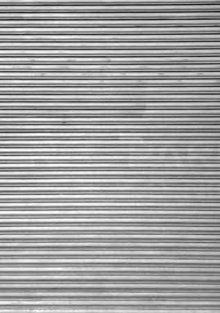security shutters: Metal warehouse door security shutters.