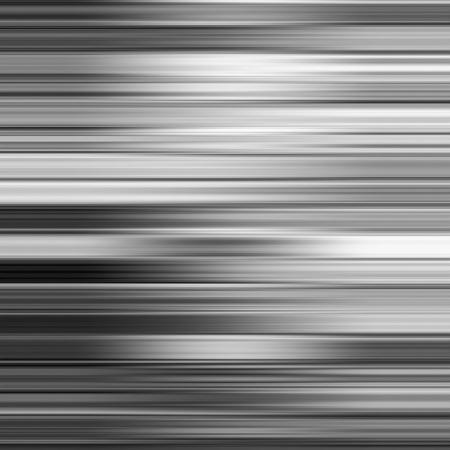 Metallic gray blur horizontal stripes abstract background.
