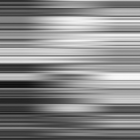 horizontal: Metallic gray blur horizontal stripes abstract background.