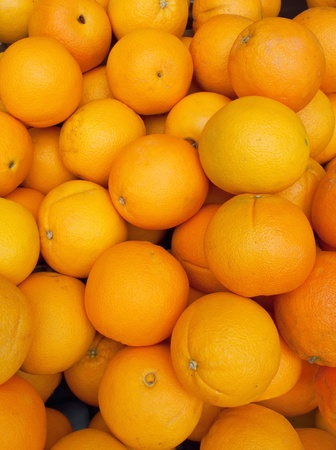 Lots of oranges. Stock Photo