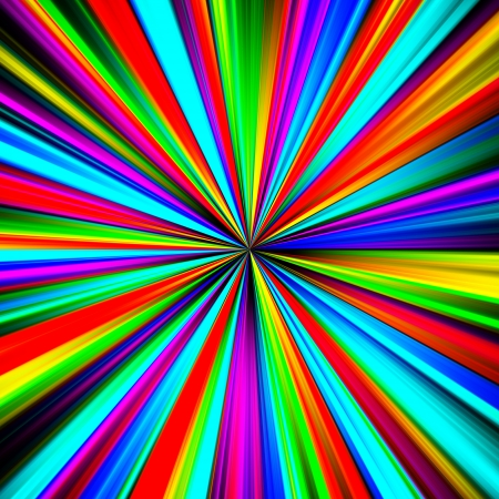 pinpoint: Multicolored pinpoint explosion abstract illustration