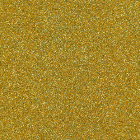 Gold color glitter texture macro close up background. Stock Photo