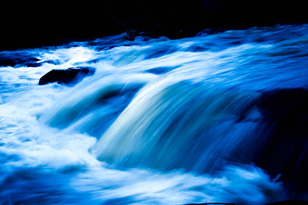 BlueWater Fall Stock Photo - 30177324