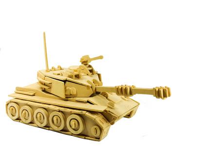 tank on white photo