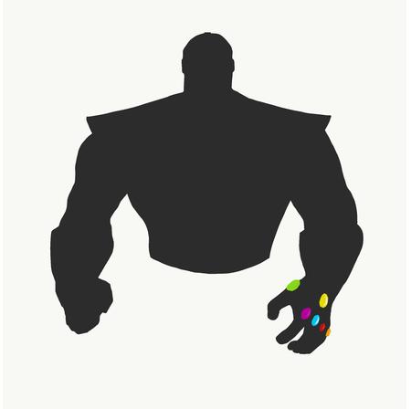 the shadows of superheros
