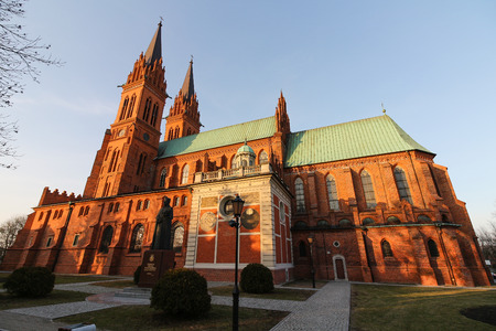 sacral: St. Mary Cathedral Basilica in Wloclawek, Poland