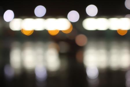 Abstract patroon als achtergrond van kleurrijk unfocused lichten Stockfoto