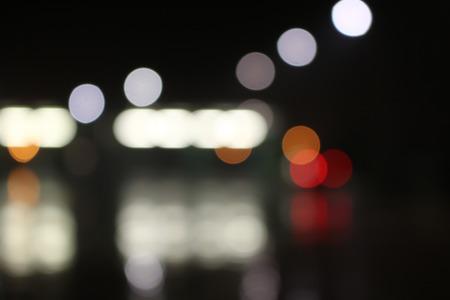 Abstract achtergrondpatroon van kleurrijke onscherp unfocused lichten
