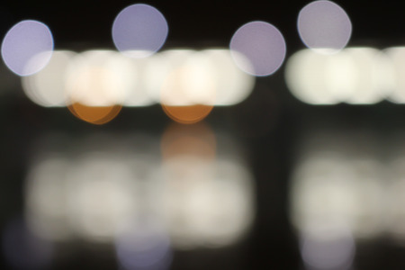 Abstract patroon als achtergrond van kleurrijke onscherpe lichten Stockfoto