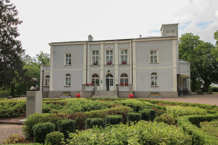 Szafarnia, Poland on August 4, 2017. The Frederic Chopin Center. Editorial