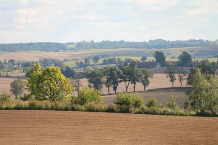 Beautiful countryside landscape Stock Photo