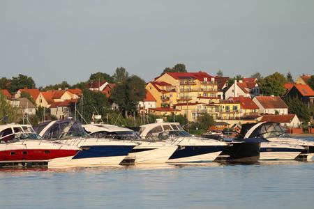 Mikolajske lake in Mikolajki Publikacyjne
