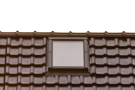 a roof light  skylight  window built into the roof