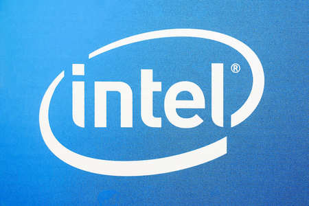 The logo of Intel Corporation