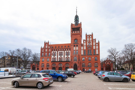 The town hall in Slupsk