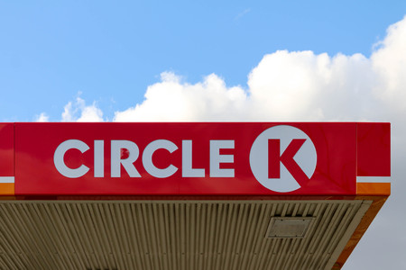 The logo of Circle K - Canadian international company operating petrol stations formerly branded as Statoil