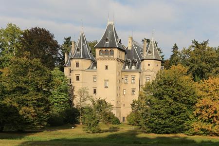 GOLUCHOW, POLAND - picturesque Goluchow Castle Museum