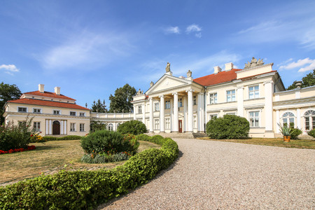 SMIELOW, POLAND - Adam Mickiewicz Museum located in a classicist palace built in late 18th century
